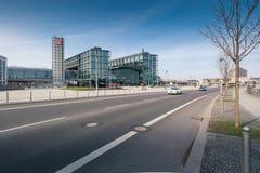 Berlin Hauptbahnhof or Berlin Central Station. Royalty Free Stock Image