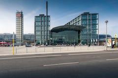 Berlin Hauptbahnhof or Berlin Central Station. Royalty Free Stock Photos