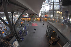 Berlin Hauptbahnhof (Berlin Central Station) Stock Image