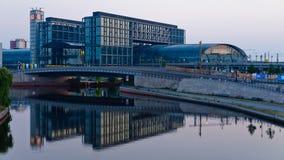 Berlin Hauptbahnhof, Germany stock footage