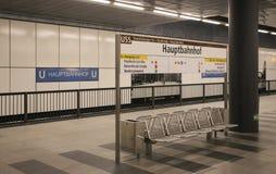 Berlin Hauptbahnhof Stock Photo