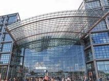 Berlin Hauptbahnhof Stock Photography