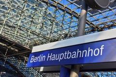 Berlin Hauptbahnhof, the main railway station in Berlin, Germany Royalty Free Stock Image