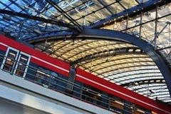 Berlin Hauptbahnhof, the main railway station in Berlin, Germany Royalty Free Stock Images