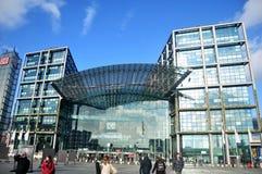 Berlin Hauptbahnhof Railway Central Station in Berlin, Germany Royalty Free Stock Photo