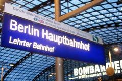 Berlin hauptbahnhof Royalty Free Stock Image