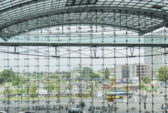 Berlin Hauptbahnhof train station Stock Photography