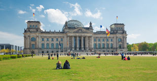 Berlin / historical building Reichstag Stock Photo