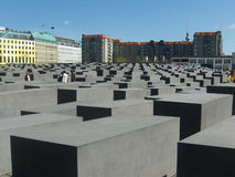 Berlin Holocaust Memorial, à Berlin, l'Allemagne Photo stock