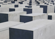 Berlin Holocaust Memorial Lizenzfreies Stockfoto