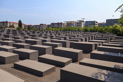 Berlin Holocaust Memorial Royaltyfria Bilder