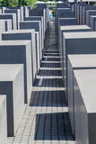 Berlin Holocaust Memorial Germany Fotografia de Stock