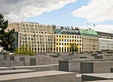 Berlin, Holocaust Memorial, partial view Stock Images