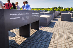 Berlin Holocaust memorial Stock Image
