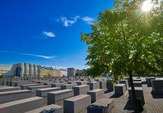 Berlin Holocaust Memorial to murdered Jews Stock Photos