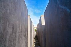 Berlin Holocaust Memorial to murdered Jews Stock Image