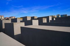 Berlin Holocaust Memorial to murdered Jews Stock Images