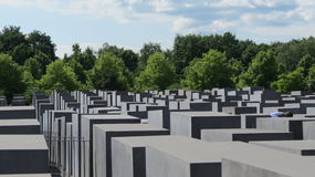 Berlin Holocaust Memorial Stock Photo