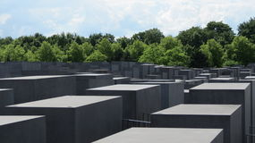 Berlin Holocaust Memorial. Holocaust Memorial in Berlin to remember the lost Jewish lives Stock Images