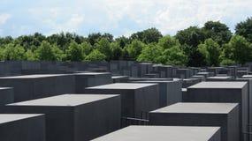 Berlin Holocaust Memorial Stock Images