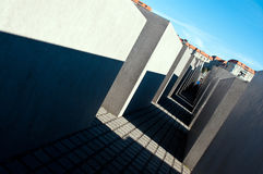 Berlin, Holocaust monument Royalty Free Stock Photo