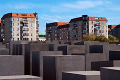 Berlin, Holocaust monument Stock Photography