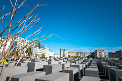 Berlin, Holocaust monument Royalty Free Stock Photos