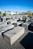 berlin holokausta zabytek zdjęcie stock