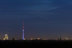 Berlin horisont Arkivfoton