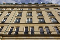 Berlin - Hotel Adlon Stockfotografie