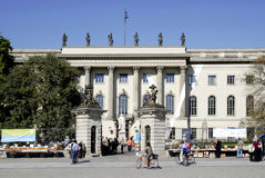 berlin humboldtuniversitetar Royaltyfria Foton