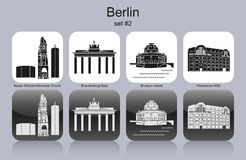 Berlin icons Stock Photography