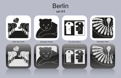 Berlin icons Stock Photos