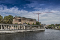 Berlin, island of the museums Stock Photo