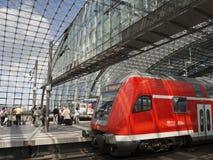 Berlin järnväg Arkivbild