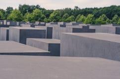 Berlin Jewish memorial Royalty Free Stock Image
