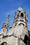 Berlin Kaiser Wilhelm Memorial Church (Germany) Royalty Free Stock Photography
