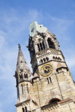 Berlin Kaiser Wilhelm Memorial Church (Germany) Royalty Free Stock Images