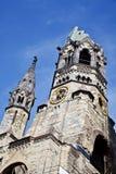 Berlin Kaiser Wilhelm Memorial Church (Tyskland) Royaltyfri Fotografi