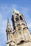 Berlin Kaiser Wilhelm Memorial Church (Tyskland) Royaltyfria Bilder