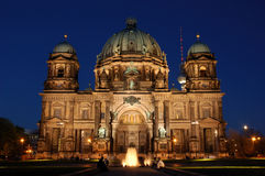 Berlin-Kathedrale Stockfoto