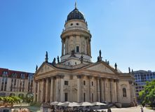 berlin kościelni deutscher dom nowi fotografia stock