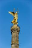 berlin kolonnseger germany Arkivbild