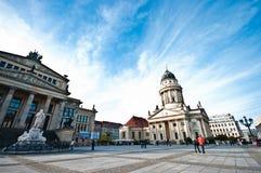 Berlin, Konzerthaus panorama stock images