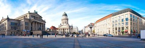 berlin konzerthauspanorama Royaltyfri Foto