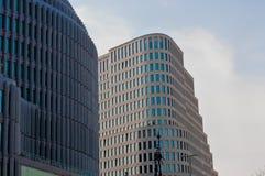 Berlin kurfurstendamm. Street skyscrapers in city center Stock Photo