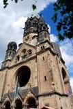 berlin kyrklig germany kaiser wilhelm Royaltyfri Fotografi