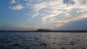 berlin lake Royaltyfri Bild