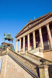 Berlin landmark Old National Gallery Royalty Free Stock Photography