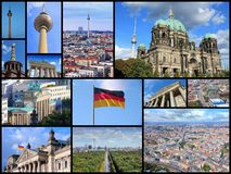 Berlin landmarks Stock Images